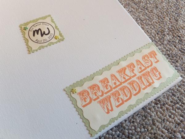DIY Wedding Guest Book
