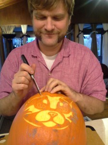 Carving Pumpkins from a Template