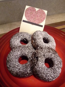 Chocolate Donuts - BIrthday