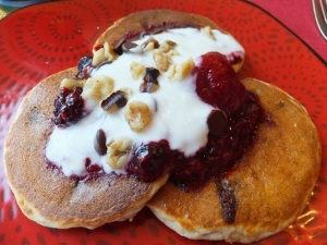 Mixed Berry Compote - Pancake Topping
